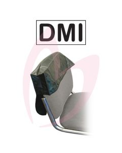 "DMI Chair Back Cover 18"" Black"