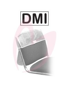 "DMI Chair Back Cover 18"" Clear"