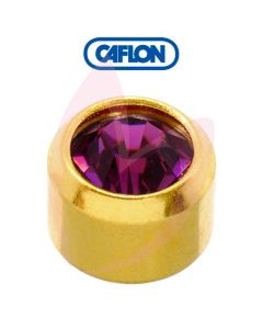 Caflon Gold Regular (February) Birth Stone Pk12