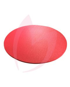 Floor Mat Round Foam - Red