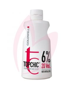 Goldwell Topchic Developer Lotion 6% 20vol 1 litre