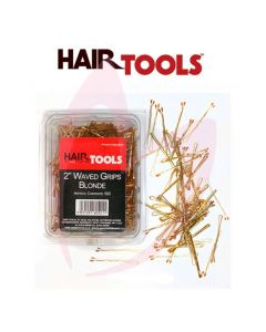 "Hair Tools 2"" Waved Grips Blonde (500)"