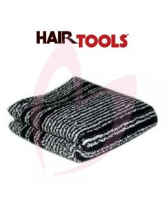 Hair Tools Black & White (Humbug) Towels (12 pk)