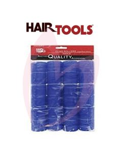 Hair Tools Cling Rollers - Large (Blue 40mm) Pk12