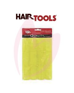 Hair Tools Cling Rollers - Medium (Yellow 32mm) Pk12