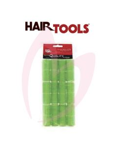 Hair Tools Cling Rollers - Small (Green 20mm) Pk12