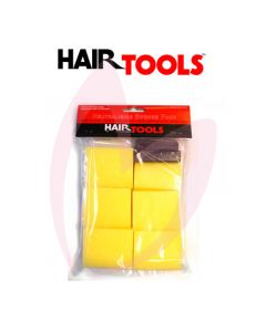 Hair Tools Neutralising Sponge Pack x6