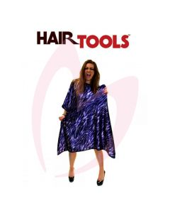 Hair Tools Purple Zebra Print Gown