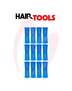 Hair Tools Rollers With Pins - Blue 20mm (Pk12)