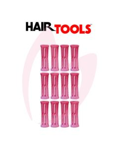 Hair Tools Rollers With Pins - Pink 26mm (Pk12)
