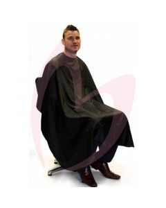 Hair Tools Black Barber Gown