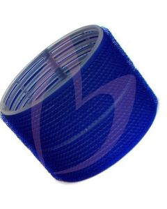 Hair Tools Cling Rollers - Jumbo (Dark Blue 76mm) Pk6