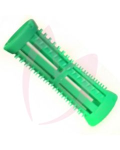 Hair Tools Pin-Cut-Rollers - Green 18mm (Pk5)