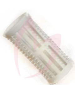 Hair Tools Rollers With Pins - White 30mm (Pk12)