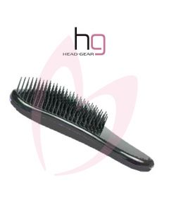 Head Gear Tangle Tamer Brush - Black
