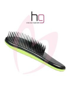 Head Gear Tangle Tamer Brush - Green