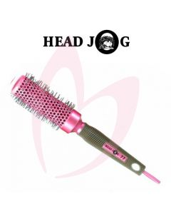 Head Jog 77 Ionic Radial Brush (33mm) Pink