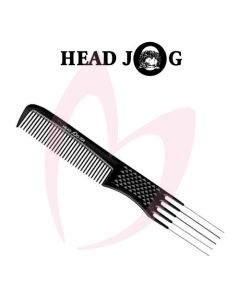 Head Jog Metal Pin Comb 204 Black