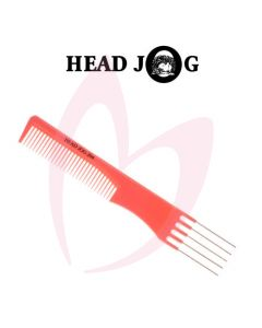 Head Jog Metal Pin Comb 204 Pink