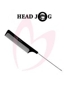 Head Jog Pin Tail Comb 203 Black