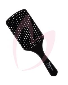 Head Gear Paddle Brush Black Wood