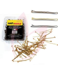 "Hair Tools 2.5"" Extra Long Waved Grips Blonde (500)"