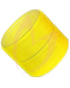 Hair Tools Cling Rollers - Jumbo (Yellow 66mm) Pk6
