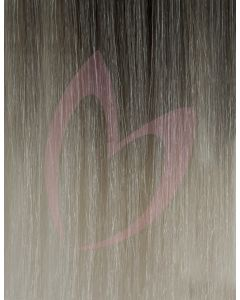 """20"""" Beauty Works (Celebrity Choice) 1g Flat Tip - #High Contrast Ash x50"""