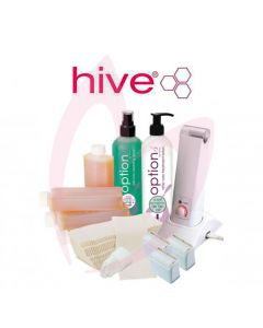 Hive Options Hand Held 80g Roller Depilatory Waxing Kit