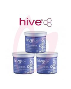 Hive Lavender Shimmer Creme Wax (3x425g)