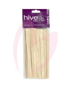 Hive Disposable Mini Spatulas (50) 15cm x 1cm