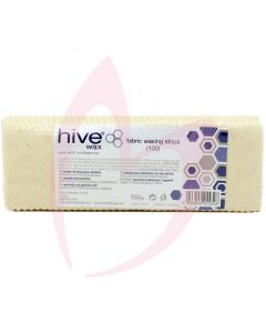 Hive Fabric Waxing Strips x100 (20cm x 7cm)