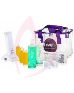 Hive Hand Held 80g Roller Depilatory Waxing Kit
