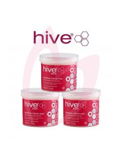 Hive Sensitive Creme Wax (3x425g)