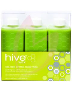 Hive Tea Tree Creme Wax Cartridges 6 x 80g