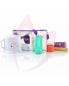 Hive Warm Honey Starter Kit & Mini Wax Heater 0.5 Litre