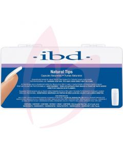IBD Natural Nail Tips (100 Assorted Pack)