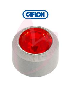 Caflon Stainless Polished Regular (July) Birth Stone Pk12