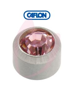 Caflon Stainless Polished Regular (June) Birth Stone Pk12