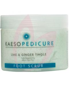 Kaeso Pedicure Lime & Ginger Tingle Foot Scrub 450ml