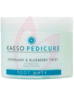 Kaeso Pedicure Peppermint & Blueberry Twist Foot Mask 450ml