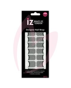 IZ French Lace See Through Nail Wrap