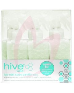 Hive Spray Fragrance-Free Low Melt Paraffin Cartridges 80g (x6)