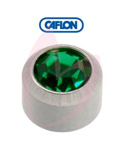 Caflon Stainless Polished Regular (May) Birth Stone