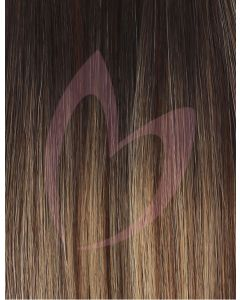 "18"" Beauty Works (Celebrity Choice) 1g Flat Tip - #Mocha Melt x50"