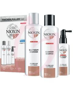 Nioxin Hair System Trial Kit 3 - MIT Free