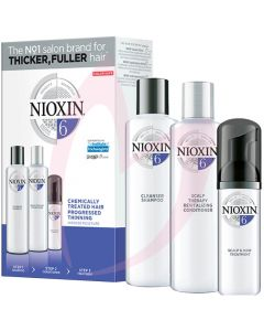 Nioxin Hair System Trial Kit 6 - MIT Free