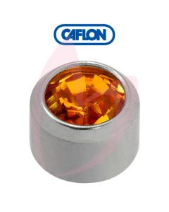 Caflon Stainless Polished Regular (November) Birth Stone Pk12