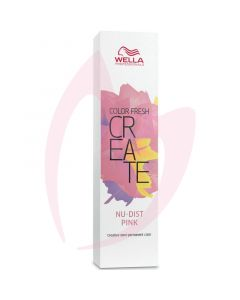 Wella Color Fresh CREATE 60ml - Nudist Pink