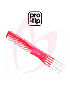Pro Tip 09 Metal Lifter Comb Red